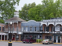 The Historic Casey Jones Home & Railroad Museum in Jackson, Tennessee Royalty Free Stock Photo