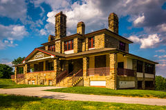 Historic Casino in Patterson Park, Baltimore, Maryland. Royalty Free Stock Photos