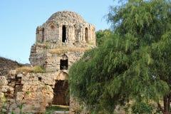 Historic Castle in Alania Stock Image