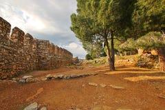 Historic Castle in Alania Stock Photo