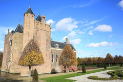 Historic Castle Assumburg, The Netherlands Stock Photo