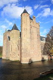 The historic Castle Assumburg in the Province North Holland, The Netherlands Stock Photography