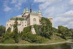 Historic castle Bojnice in the Slovak Republic. Stock Photography
