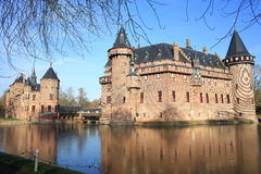 The historic Castle De Haar, The Netherlands Royalty Free Stock Photo