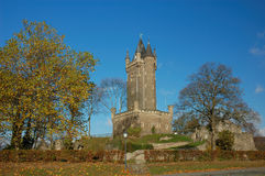 Historic castle dillenburg. In germany, autumnal scene Royalty Free Stock Images