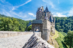 The historic castle Eltz in the Eifel. Germany Royalty Free Stock Photos
