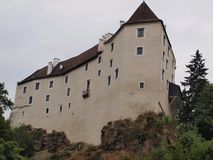 Historic castle Karlstein. Northern Austria royalty free stock image