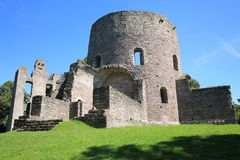 The historic Castle Krukenburg in Hessen, Germany Stock Photography