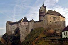 Historic castle Loket, Czech Republic Royalty Free Stock Photos