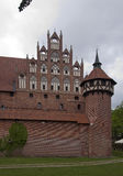 Historic castle of Malbork Stock Image