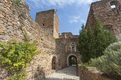 Historic castle in Northern Italy near the town of Bozen. Boymont castle in South Tyrol near Bozen, Italy stock image