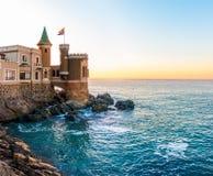 Castillo Wulff in Vina del Mar, Chile. A historic castle overlooking the sea in Vina del Mar, Chile royalty free stock image