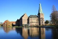 Historic Castle Raesfeld in Westphalia , Germany Stock Photos