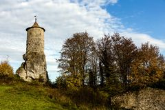 Historic castle tower Royalty Free Stock Photography