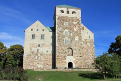 Historic Castle of Turku, Finland Royalty Free Stock Photo