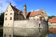 Historic Castle Vischering in Westphalia, Germany Royalty Free Stock Image