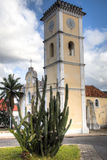 The historic cathedral of Inhambane Royalty Free Stock Photography