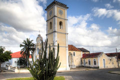 The historic cathedral of Inhambane Royalty Free Stock Image