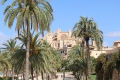 Cathedral in Palma de Majorca. Historic Cathedral in Palma de Majorca Royalty Free Stock Images