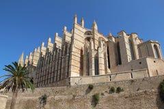 Cathedral in Palma de Majorca. Historic Cathedral in Palma de Majorca Stock Image