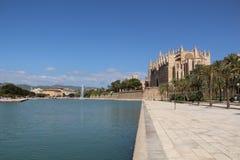 Cathedral in Palma de Majorca. Historic Cathedral in Palma de Majorca Stock Photography