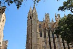 Cathedral in Palma de Majorca. Historic Cathedral in Palma de Majorca Stock Images