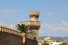 Cathedral in Palma de Majorca. Historic Cathedral in Palma de Majorca Stock Photos