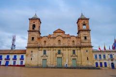 Historic Cathedral of Santisima Trinidad y San Royalty Free Stock Photos