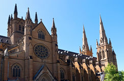Historic Cathedral in Sydney Stock Photography