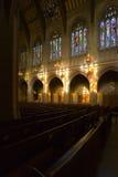 Historic Catholic Church. Shot inside Saint Domonic's, a historic Catholic Church in San Francisco Royalty Free Stock Images