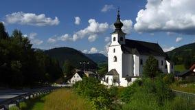 St. Leonard Church, Spital am Pyhrn, Oberosterreich, Austria stock images