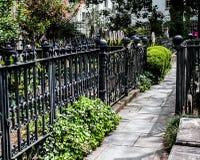 Historic Cemetery at St. Michael's Church, Charleston, SC. Royalty Free Stock Image