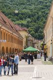 Historic Center of Brasov, Romania Stock Images