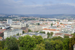Historic center of Brno, Czech republic Royalty Free Stock Photography