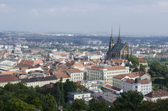 Historic center of Brno, Czech republic Stock Images