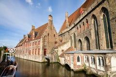 Historic center, Bruges Stock Photos
