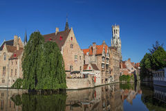 The historic center of Bruges Royalty Free Stock Images