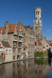 The historic center of Bruges Stock Photos