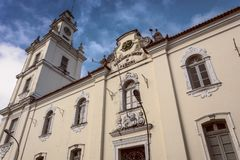 Historic center of the city of Joao Pessoa, northeastern Brazil. Tourist point, ancient city stock image