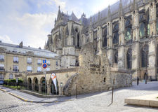 The historic center of the city of Reims Royalty Free Stock Images