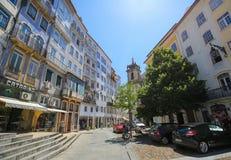 Historic center of Coimbra, Portugal Stock Photo