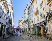 Historic center of Coimbra, Portugal Stock Images