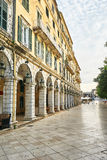 Historic center of Corfu Royalty Free Stock Photos