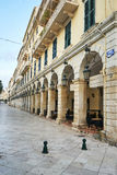 Historic center of Corfu Royalty Free Stock Photo