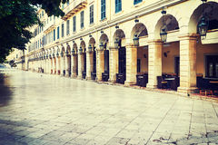 Historic center of Corfu Royalty Free Stock Photography
