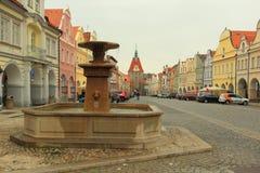 Historic center of Domazlice Stock Photos
