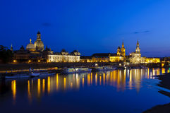 Historic center dresden Royalty Free Stock Photography