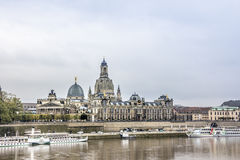 Historic Center of Dresden Stock Image