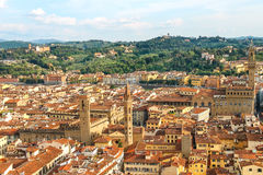 Historic center of Florence, Italy Stock Photos