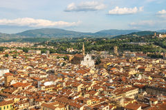 Historic center of Florence, Italy Stock Photography